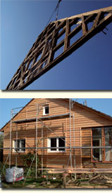 Dach Reparatur Sturmschaden